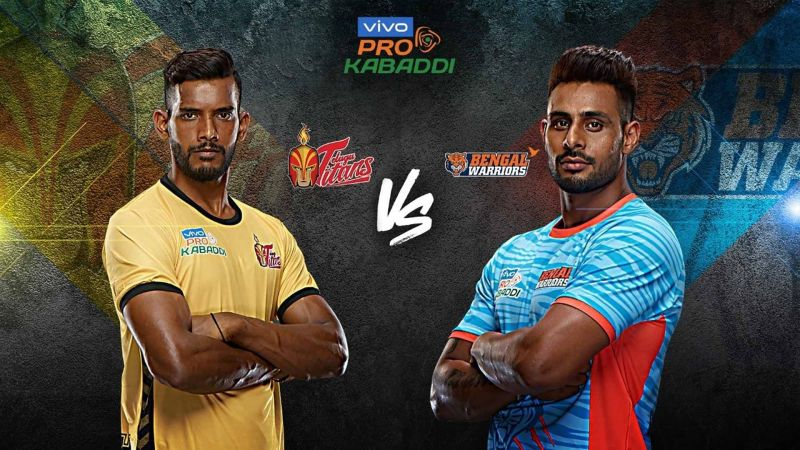 Telugu Titans look to end their winless run against their arch-rivals, Bengal Warriors.