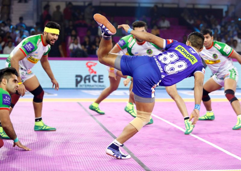 Haryana Steelers thrash Patna Pirates with 39-34 in a fervid war