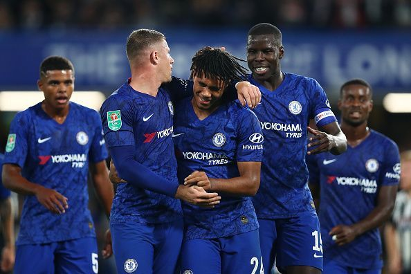 Chelsea enjoyed a big win in midweek.
