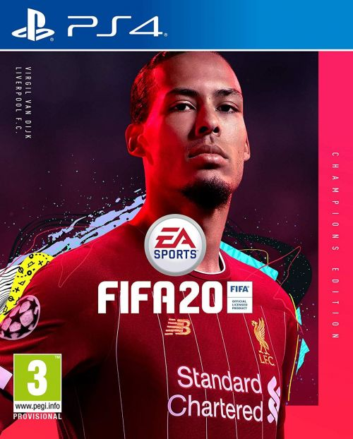 Virgil van Dijk is on the cover of FIFA 20 Champions Edition