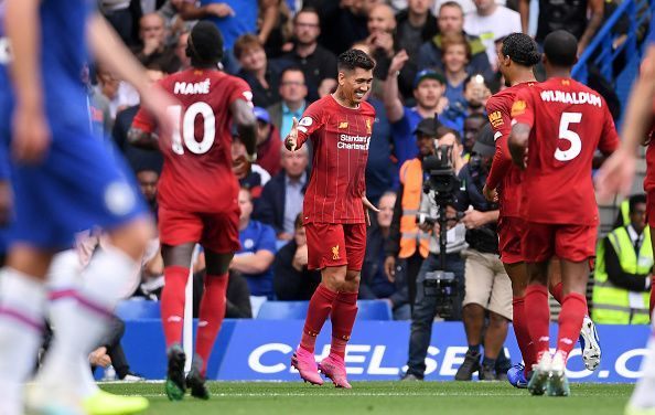 Firmino doubled Liverpool