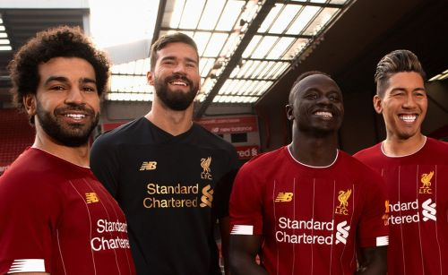 Mohamed Salah, Alisson Becker, Sadio Mane and Roberto Firmino all feature in the Top 100
