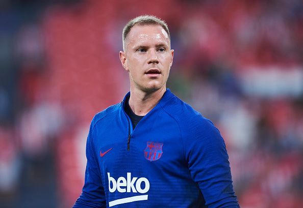 Ter Stegen became the first Barcelona goalkeeper to register an assist in the 21st century