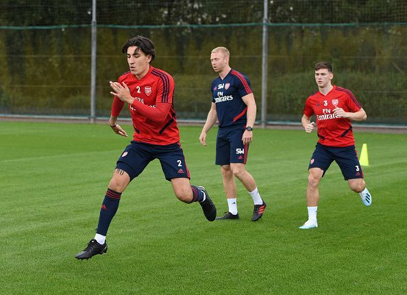 Bellerin and Tierney are stepping up their recovery from injury