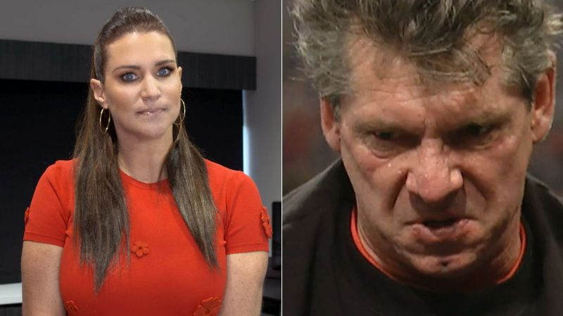 Stephanie McMahon has learned not to sneeze around her father!