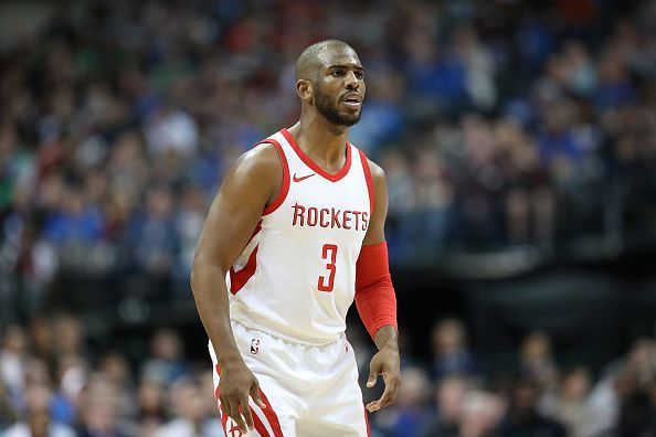 Chris Paul has spent the past two years with the Houston Rockets