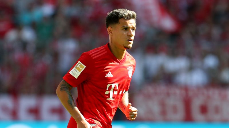 Philippe Coutinho is in line for his first start at the Allianz Arena