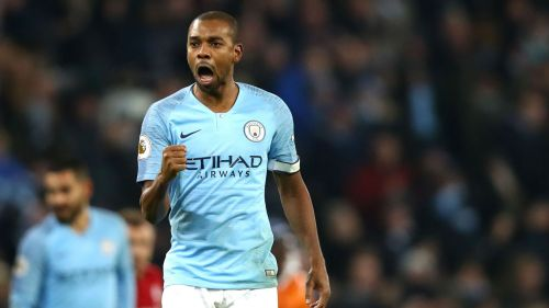 Fernandinho put in a solid shift at the heart of the backline