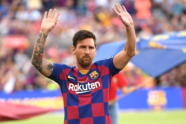 Lionel Messi will be making his first appearance in the league this season after having missed the starting with injuries.