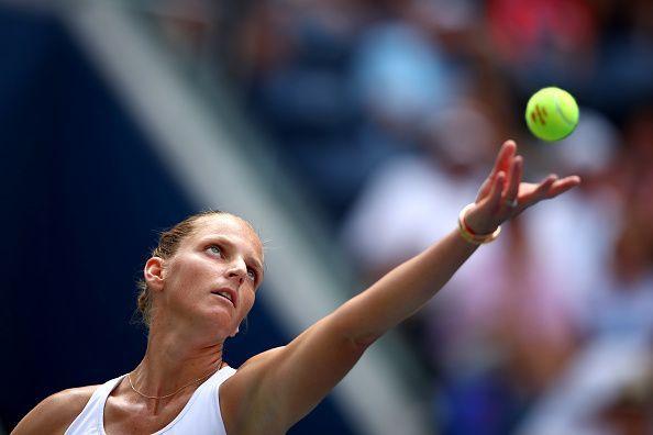 Karolina Pliskova is the top seed in the draw.