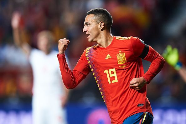 Rodrigo kicked off things for Spain with a brace