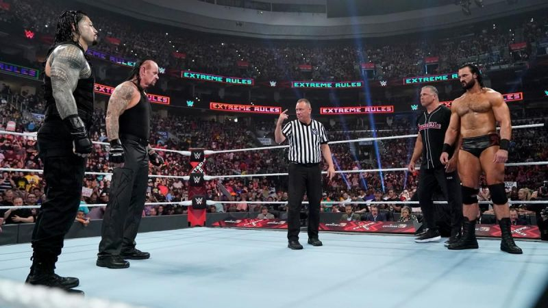 McIntyre lost his last PPV match with Shane McMahon against Roman Reigns & The Undertaker