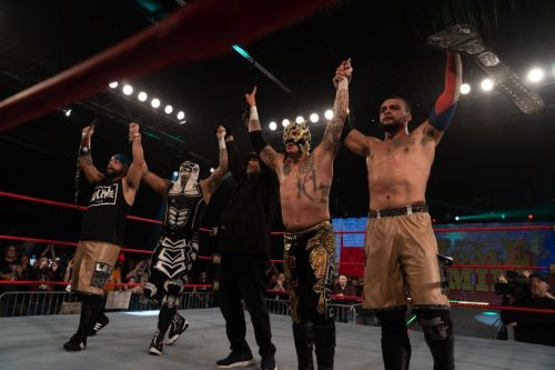 Image result for lax vs lucha bros