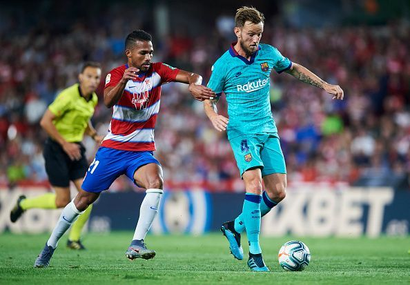 Granada defeated Barcelona at home