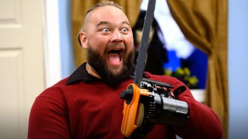 Bray Wyatt showing the dark side of the Firefly Fun House