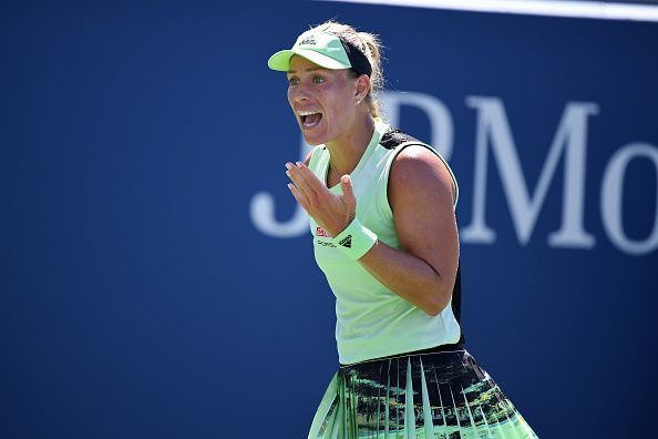 Fifth seed Angelique Kerber is going through a difficult phase off late.