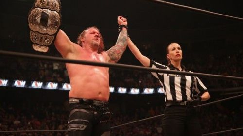 Chris Jericho is the first AEW World Champion