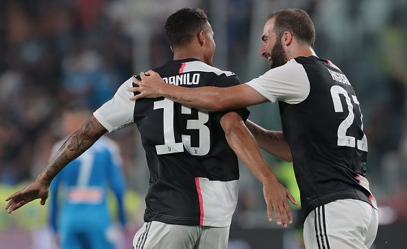 Higuain and Danilo scored in a sizzling first-half display
