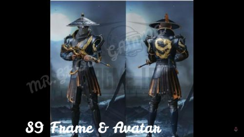 The Samurai Outfit (Image source: Mr.GHOST GAMING, YouTube)