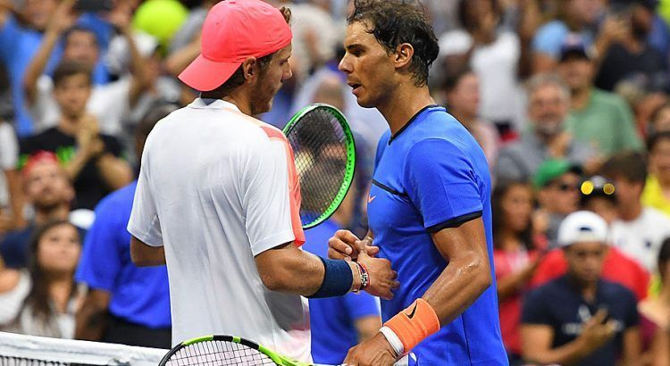 Nadal lost to Pouille at the 2016 US Open