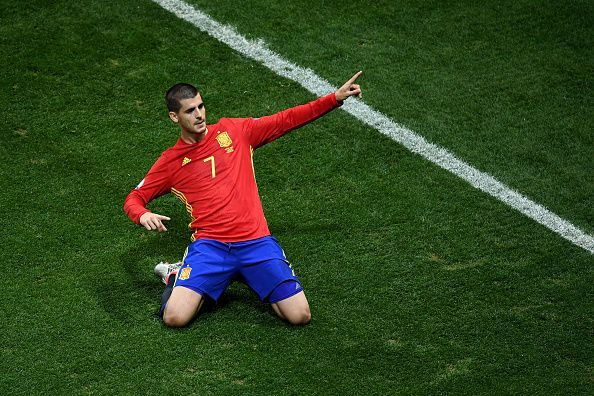Morata has scored 3 goals for Spain in the 2020 Euro Qualifying Campaign