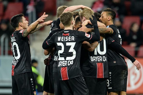 Bayer Leverkusen has one of the most exciting young attack in the Champions League