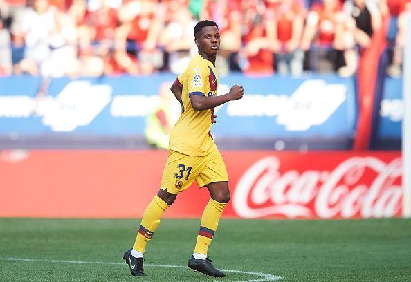 Fati became Barcelona