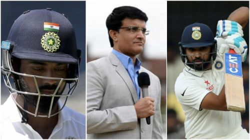 Ganguly wants Rohit Sharma's inclusion in the Test side
