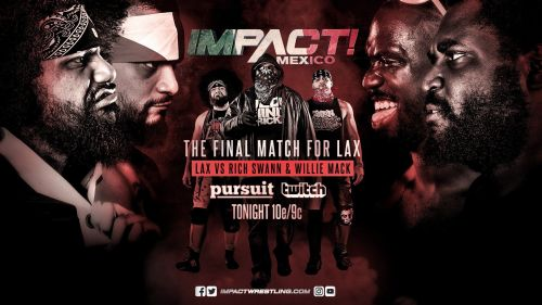 LAX's final fight inside an Impact ring was against two close friends