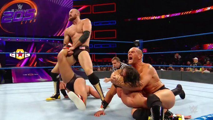WWE 205 Live Results (September 24th, 2019): 1-2 reunites, Angel Garza returns to NXT