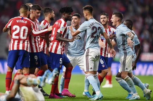 Atletico Madrid and Celta Vigo played out a goalless draw
