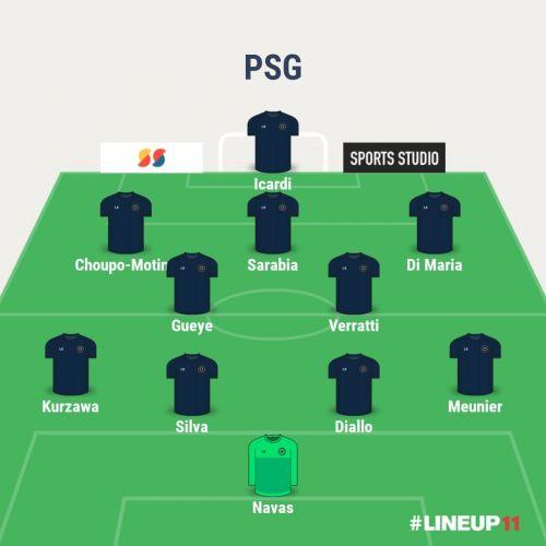 PSG predicted XI