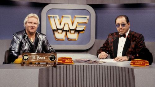 Gorilla Monsoon and Bobby the Brain Heenan hosted Prime Time Wrestling every Monday night on the USA network for eight years.