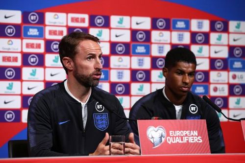 England boss Gareth Southgate may have some big decisions to make - including the role of Manchester United's Marcus Rashford