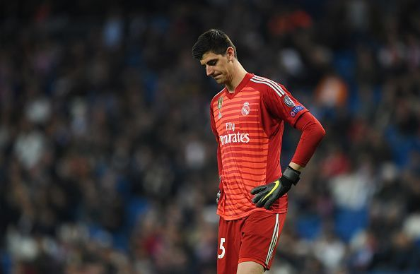 Thibaut Courtois has not kept a clean sheet in over five months