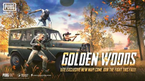 The new Golden Woods Map (Image credit: PUBG Mobile Lite, Twitter)