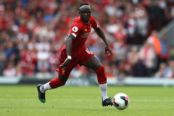 Mane has scored 4 goals in the league for Liverpool so far