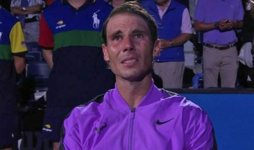Nadal turns emotional after winning his 4th US Open title