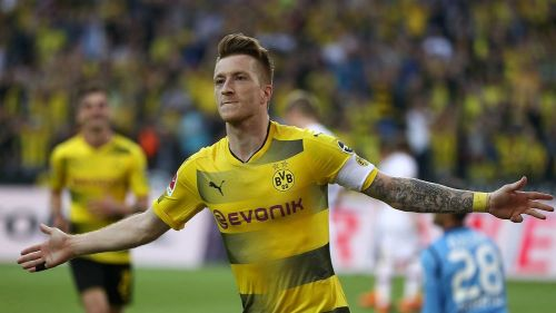 Marco Reus spearheaded a fantastic all-round performance with a double