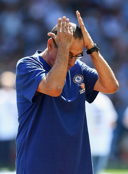 Sarri at Chelsea