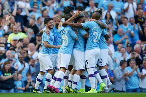 Manchester City had to respond after a defeat, and they did that by putting seven past Watford