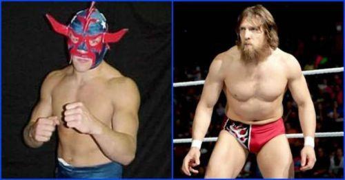 Daniel Bryan was a masked wrestler when he was in New Japan Pro Wrestling