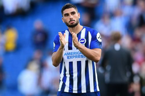 Neal Maupay has bagged two goals for Brighton so far this season