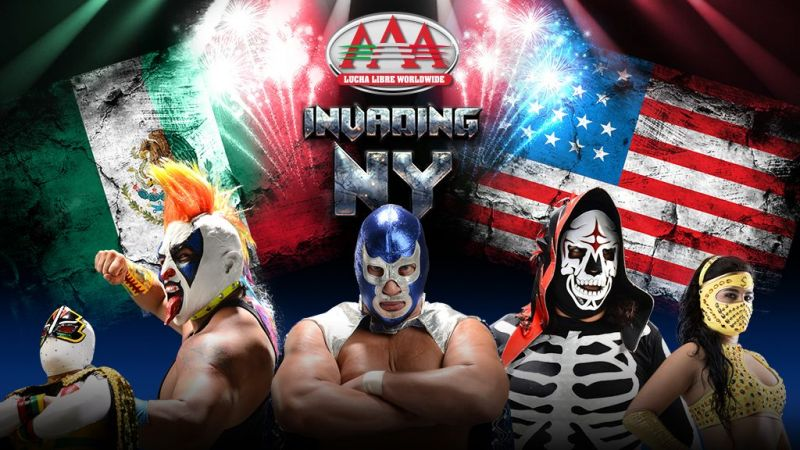 Photo courtesy of Lucha Libre AAA and IMPACT Wrestling