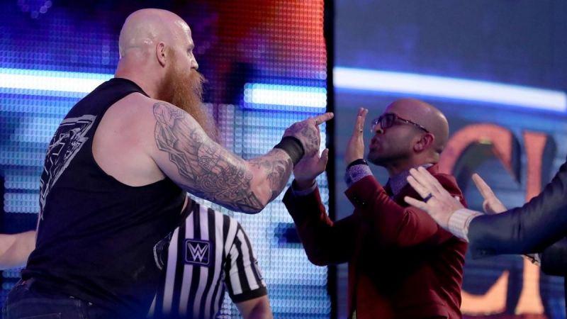 WWE के साथ काम