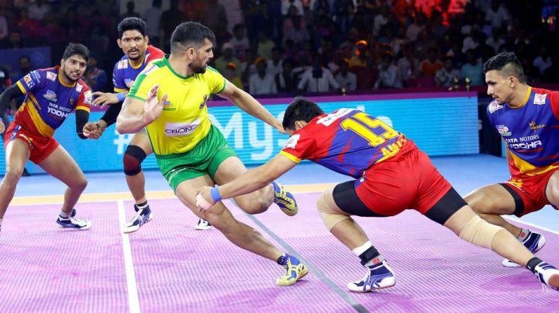 Tamil Thalaivas lost their match against UP Yoddha tonight