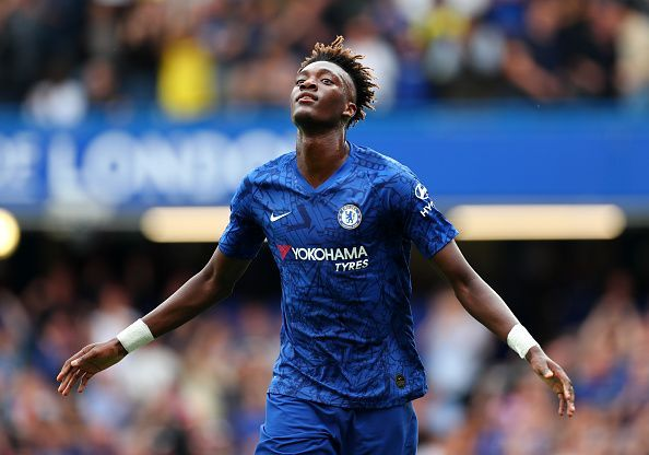 Young Tammy Abraham netted two goals against Sheffield United
