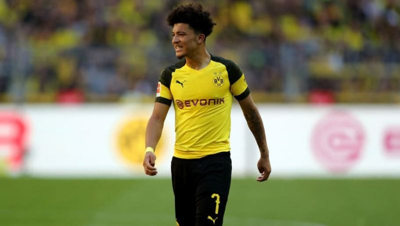 Jadon Sancho has already provided four assists in this Bundesliga campaign