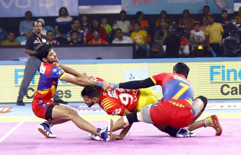 UP Yoddha snatch victory from Gujarat Fortune Giants in a splendid fashion