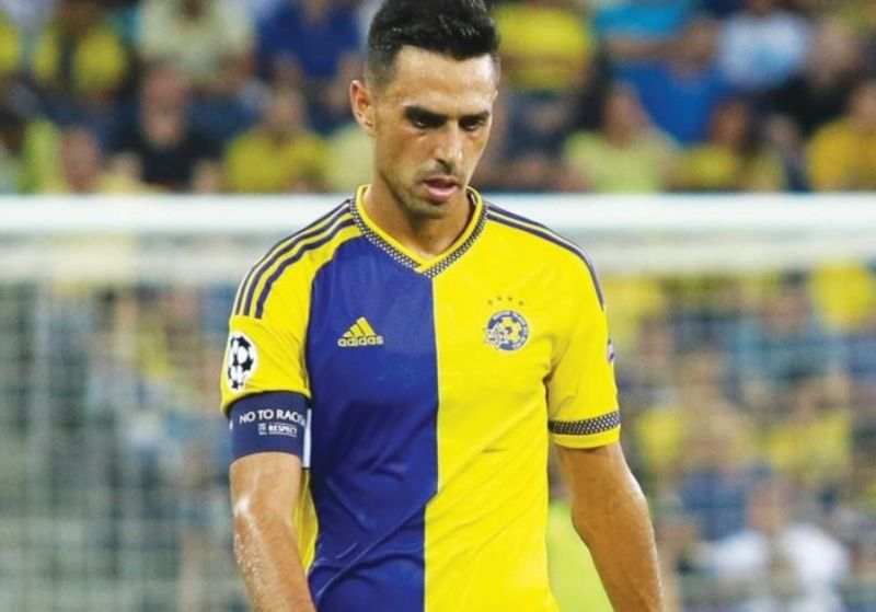 Eran Zahavi of Israel is the top scorer in Euro 2020 qualifying, with seven goals